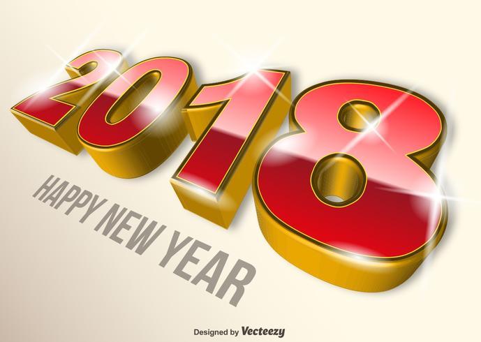 【现代2018新年快乐多姿多彩壁纸】套版可用的现代2018新年快乐多姿多彩壁纸下载,创作感的Q板图素材包下载