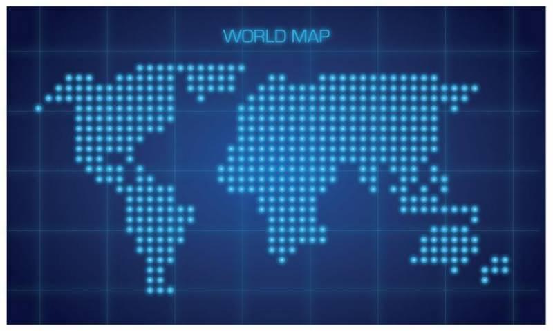 全球地圖向量圖示素材下載
