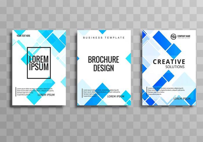 近代的なビジネス-パンフレットテンプレートパターン素材集ダウンロード
