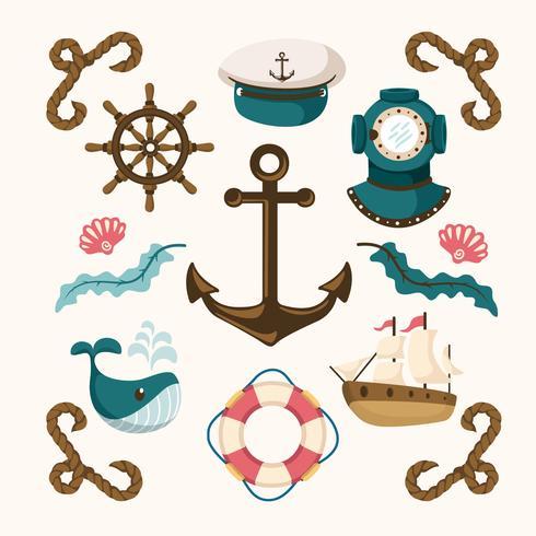 航海元素圖片免費下載