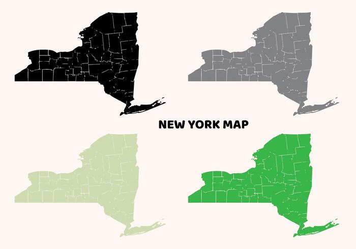 平面紐約地圖設計圖片下載