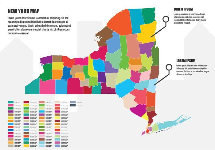 紐約地圖資訊圖圖片素材免費下載