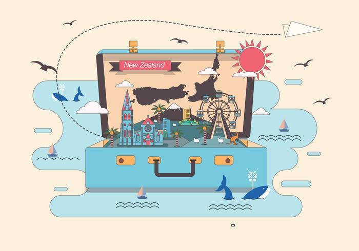 【手提箱里有新西兰地图图片】画质很高的手提箱里有新西兰地图图片下载,优秀的卡通图案免费下载