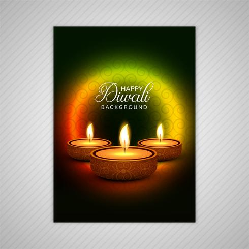 不錯的排燈節小冊子模板豐富多彩的排燈節圖片素材免費下載