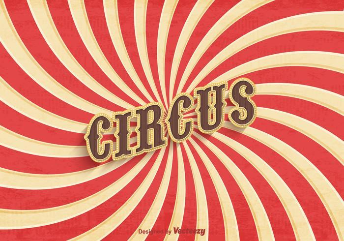 老馬戲團的海報矢量素材免費下載