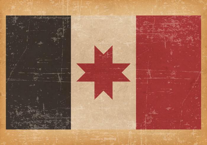 烏德穆爾蒂亞的舊垃圾旗素材免費下載