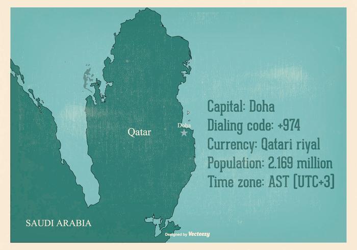 老卡塔爾地圖插畫素材下載,很圖像下載