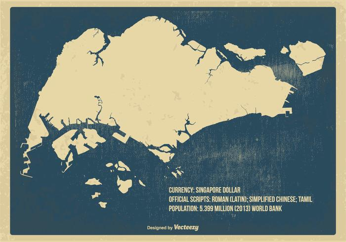 新加坡老地圖圖案素材下載