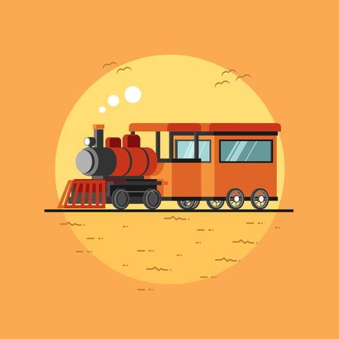 橙色的機車矢量圖形素材包下載