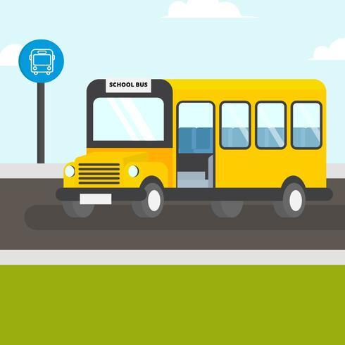 【校车图示】illustrator可用的校车图示下载,优质的图型素材包下载