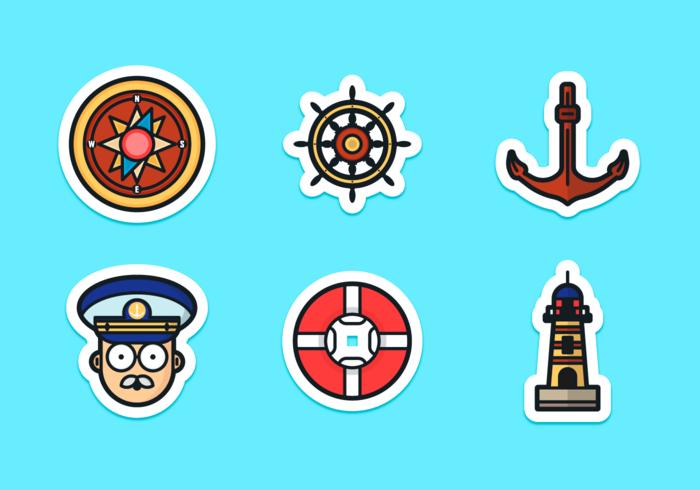 【水手向量图案】生活能用的水手向量图案下载,精致的可爱图下载