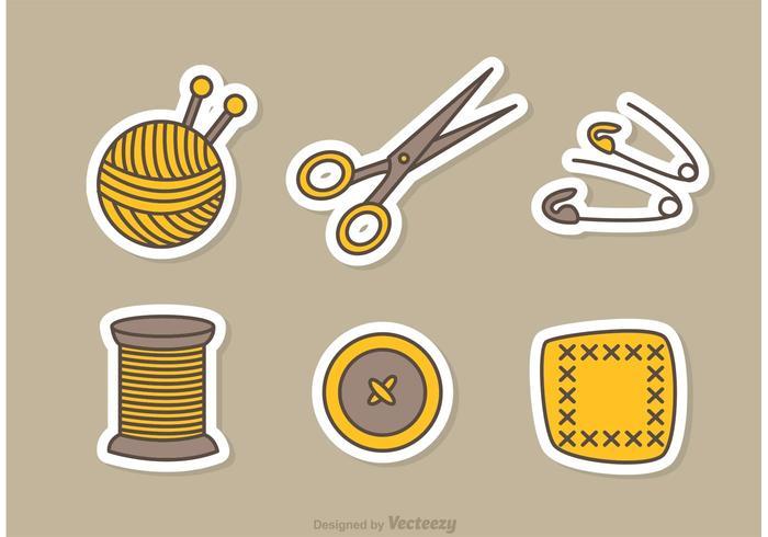 縫紉和刺繡向量素材免費下載