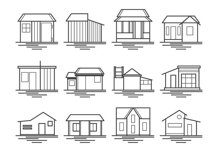 棚屋和房屋圖片素材免費下載