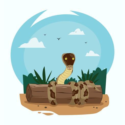 蛇插圖素材下載