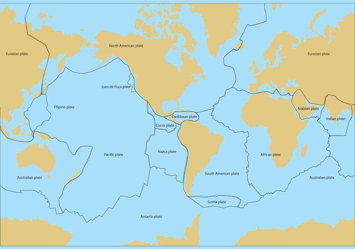 板塊地圖向量圖檔素材下載