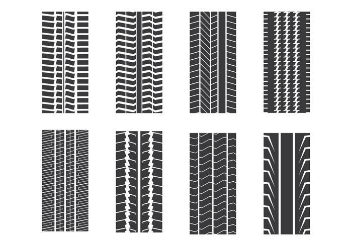 タイヤマークパターン素材ダウンロード