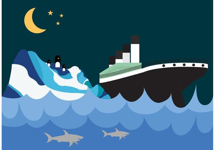 【泰坦尼克号和冰山壁纸图片】完整的泰坦尼克号和冰山壁纸图片下载,优质的图画素材下载