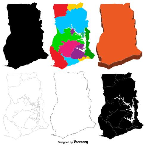 加納地圖向量圖示素材下載,去背圖下載