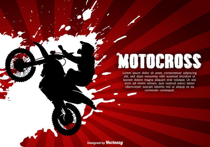 モトクロスベクター画像無料