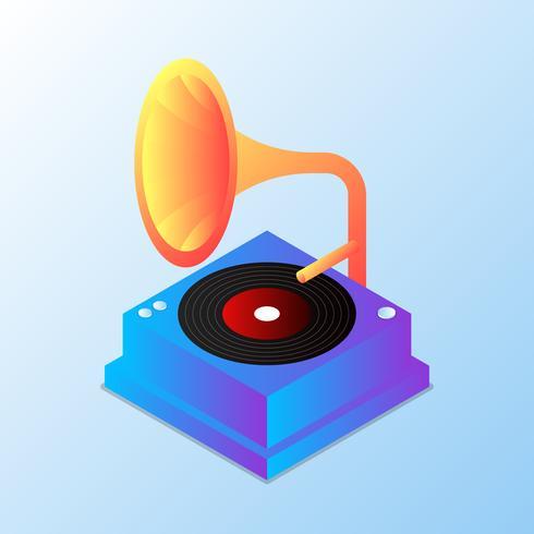 【老式留声机现代图示】专业的老式留声机现代图示下载,细致的底图素材下载