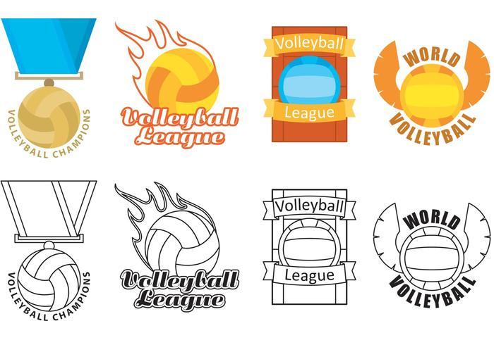 バレーボールのロゴベクター画像材料ダウンロード ,著作権