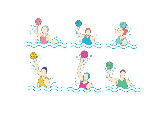 水球女子画像 素材素材ダウンロード宿題用アニメ素材無料ダウンロード