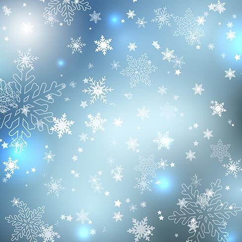 冬の雪片無料