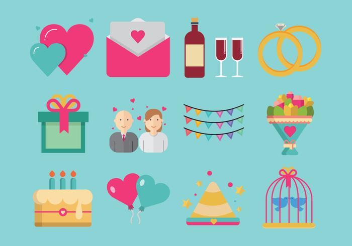 パーティーと記念日iconアイコン素材ダウンロード