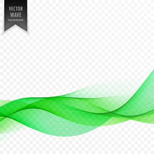 グリーン抽象波エレガントline 画像素材集ダウンロード
