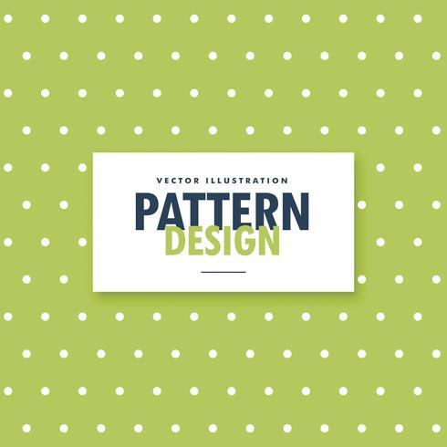 緑と白の水玉模様パターン素材集ダウンロード