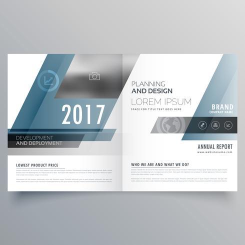 抽象的な形状を持つ現代のビジネス間仕切りパンフレットテンプレートパターン素材ダウンロード