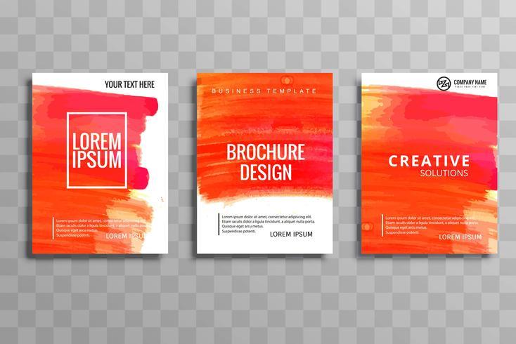 現代のビジネスパンフレットパターン素材集ダウンロード