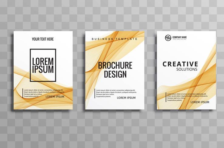 現代のビジネスパンフレットパターン素材ダウンロード