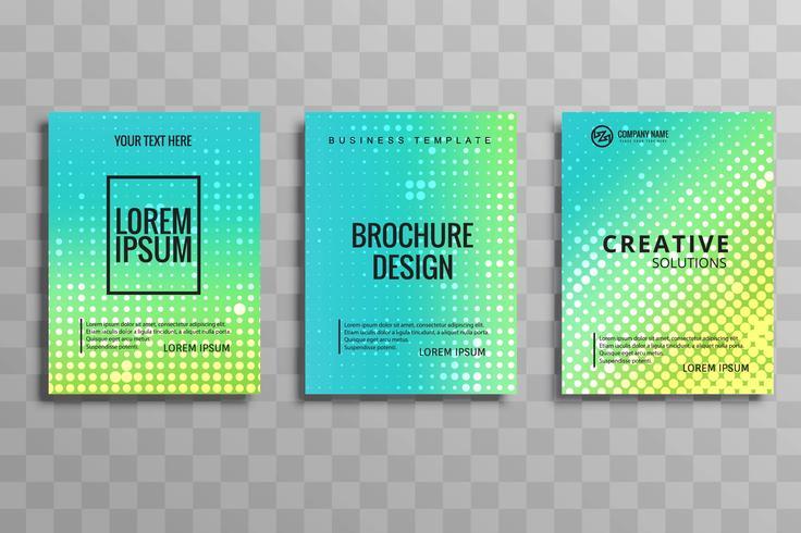 現代のビジネスパンフレットパターン素材無料ダウンロード