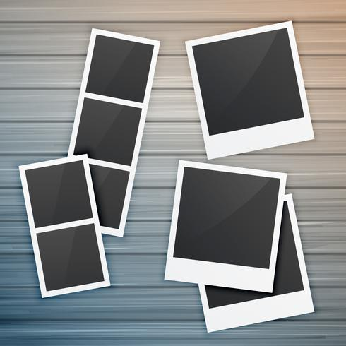 木製相框收藏圖形下載,向量圖檔下載
