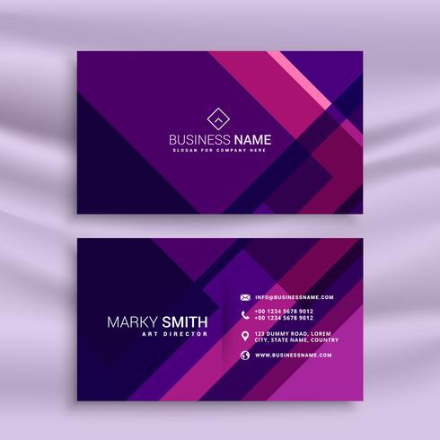 紫色の抽象-名刺テンプレートパターン素材無料ダウンロード