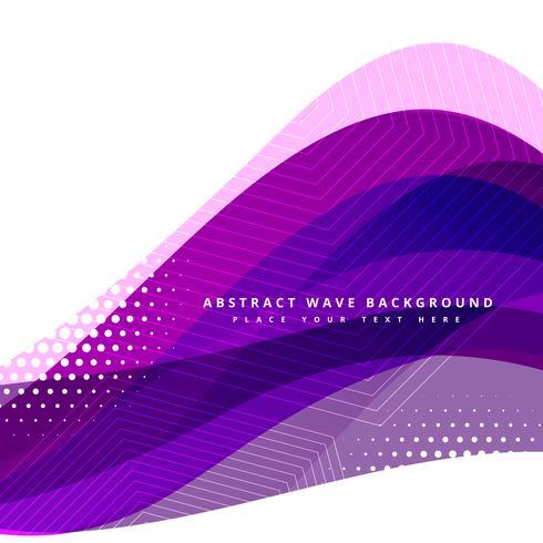紫色の波状のデザインイラスト 写真素材集ダウンロード