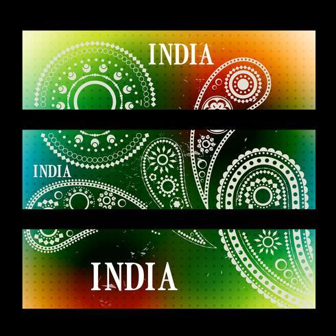 インドのヘッダーのパターンfree download