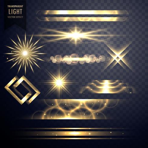 光的閃爍效果,閃光和透鏡耀斑圖片素材包下載