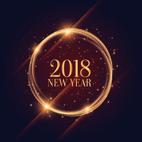 【闪亮的2018年新年框架闪耀背景图案】国外精致的闪亮的2018年新年框架闪耀背景图案下载,优质的图例素材包下载