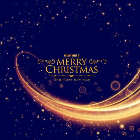 輝く波の効果を持つスタイリッシュなメリークリスマスパターンfree download