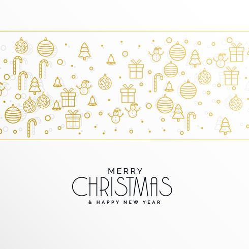 クリスマスとスタイリッシュなメリークリスマスの挨拶iconアイコン 画像ダウンロード