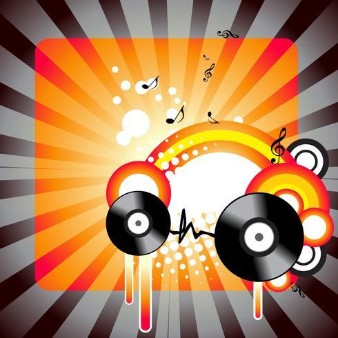 スタイリッシュな音楽アートワークパターン無料
