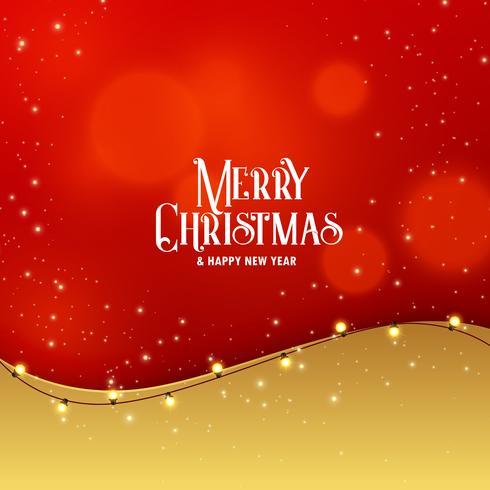 光の効果を持つスタイリッシュなプレミアムクリスマスグリーティングデザインパターンダウンロード